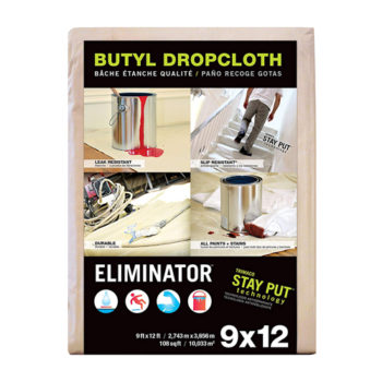 Trimaco Eliminator Butyl Dropcloth