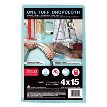 Trimaco One Tuff Coated Dropcloth