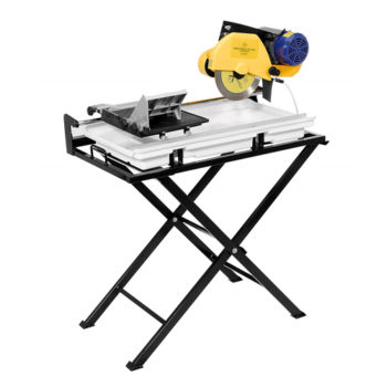 60020SQ 24-Inch Dual Speed Tile Saw with Water Pump and Folding Stand