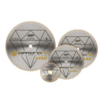 Diamond Blades – Gold Series
