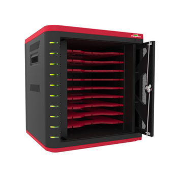 Desktop Cabinet Charging Cart for Tablets 10