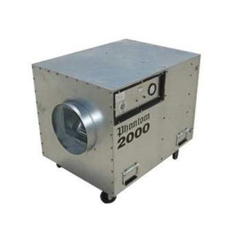 Phantom Contractor Grade HEPA Air Filter - Air Scrubber -Negative Air Machine