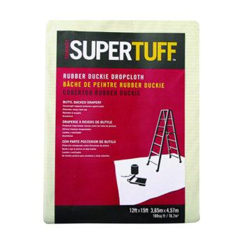 Trimaco SuperTuff Rubber-Duckie Heavyweight Butyl Dropcloth