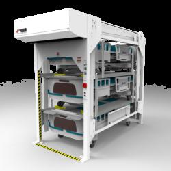 Vidir Bedlift Hospital Storage Solution