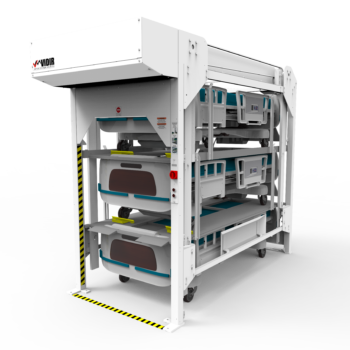 Vidir Bedlift Hospital Storage Solution