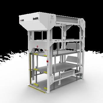 Vidir 4 Bed Lift Storage System