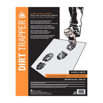 Trimaco Dirt Trapper Ultra Sticky Mat - 30 layer refill