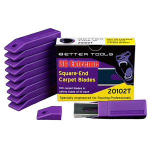 Better Tools Gorilla Blades Premium Square Carpet Blades