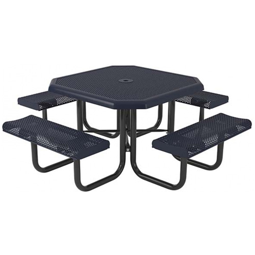 Octagonal Perforated Portable Table