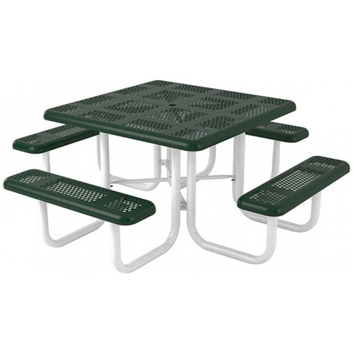 Square Perforated Portable Table