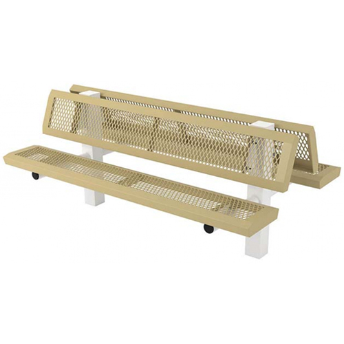 Infinity Double 4-4 In-Ground Mount Bench