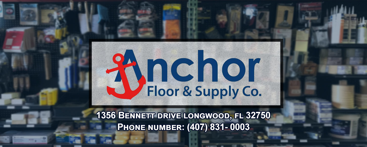 Anchor Floor and Supply Hardware Supplies Store Medical Storage Equipment