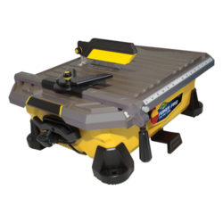 QEP 22900Q Power 1 HP Pro Tile Wet Saw, 7-Inch
