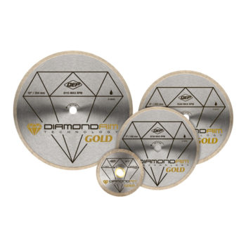 Diamond Blades – Gold Series