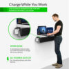 ChargeTech Power Shelf Charging Station