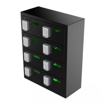 8 Bay Cell Phone Charging Locker