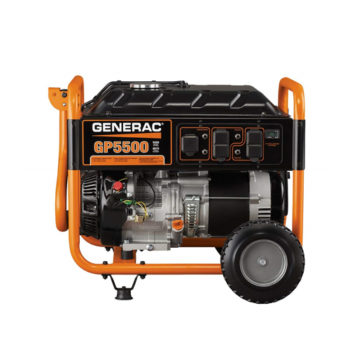 Generac 5939 GP5500 5500 Running Watts