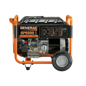 Generac 5940 GP6500 6500 Running Watts/8000 Starting Watts Gas