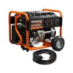 GP6500E 6,500-Watt Gasoline Powered Electric Start Portable Generator