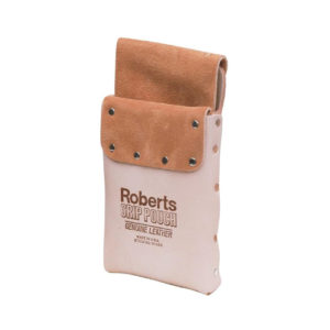 Roberts Deluxe Leather Grip Carpet Knife and Tool Pouch