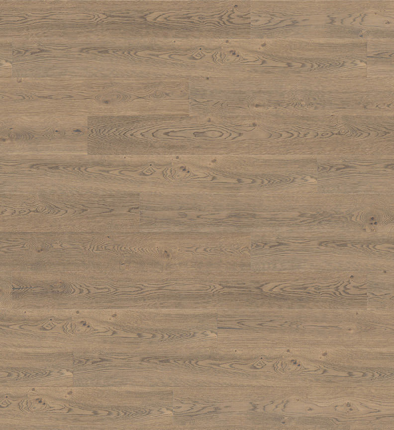 Oak Tobacco Grey Sauvage Parquet 4000 TC Plank 1 - Strip Plaza 4V deep brushed naturaLin + oiled (533498)