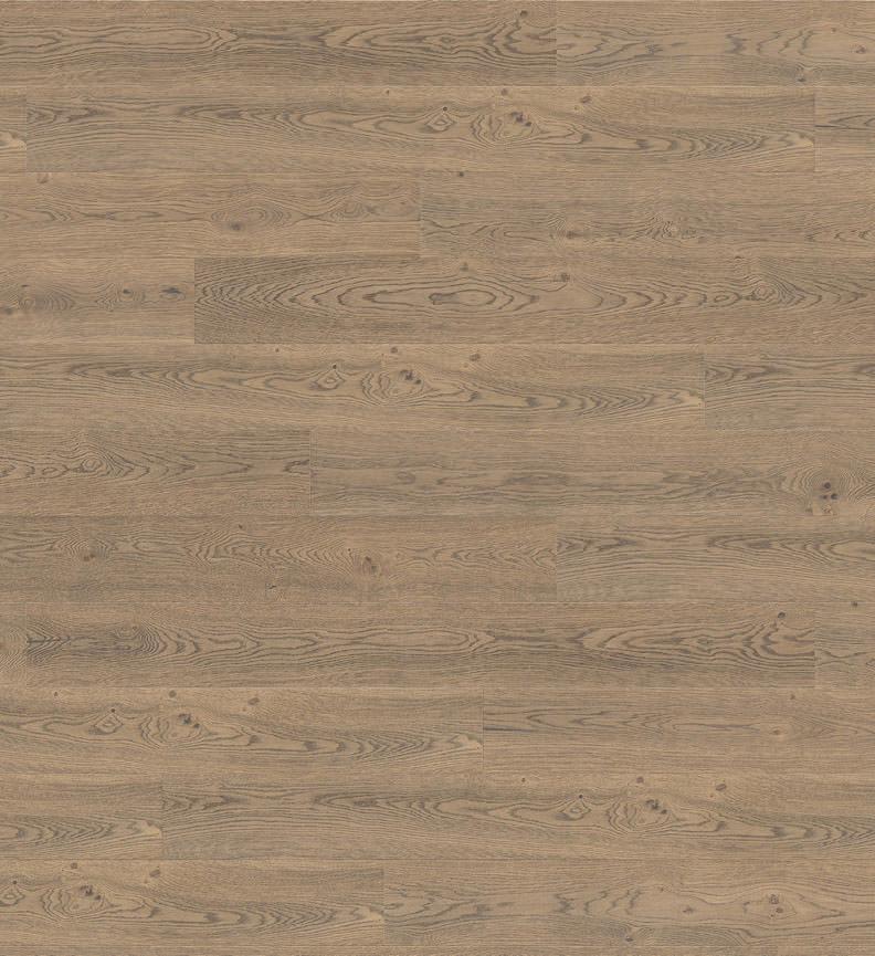 Oak Tobacco Grey Sauvage Parquet 4000 TC Plank 1 - Strip Plaza 4V deep brushed naturaLin + oiled (533498)