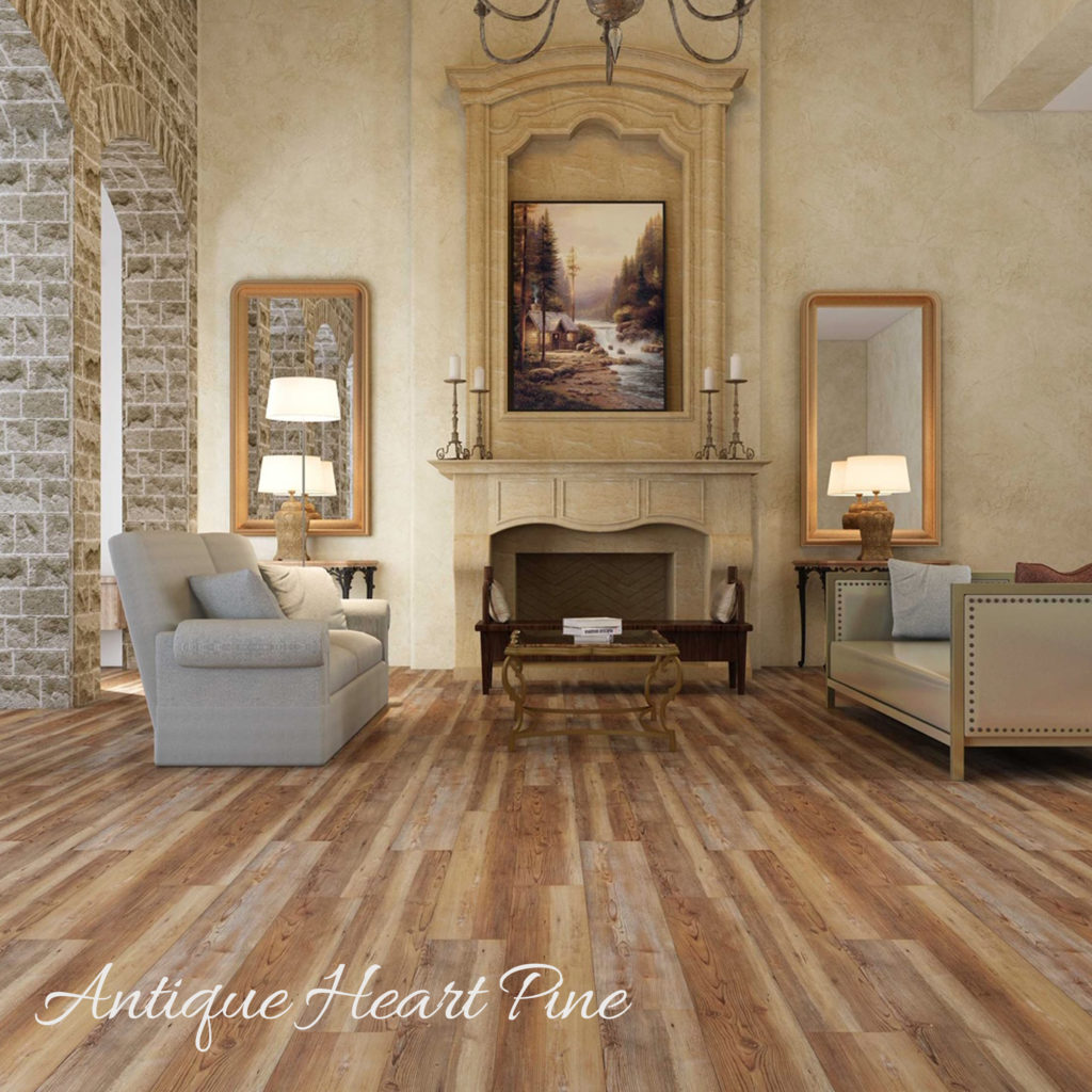 Gulf Coast WPC Antique | Anchor Floor and Supply Flooring Antique Heart